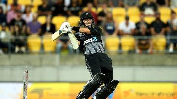 Mark Chapman struck a few powerful blows on his New Zealand debut