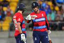 Dawid Malan and Alex Hales put on 65 for the second wicket, New Zealand v England, Trans-Tasman tri-series, Wellington, February 13, 2018