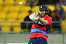 Dawid Malan made his third T20I half-century, New Zealand v England, Trans-Tasman tri-series, Wellington, February 13, 2018