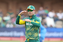 AB de Villiers gestures during play, South Africa v India, 5th ODI, Port Elizabeth, February 13, 2018