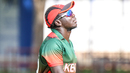 Shem Ngoche walks off the field alone and disconsolate after a last-ball defeat, Kenya v Nepal, ICC World Cricket League Division Two, Windhoek, February 12, 2018