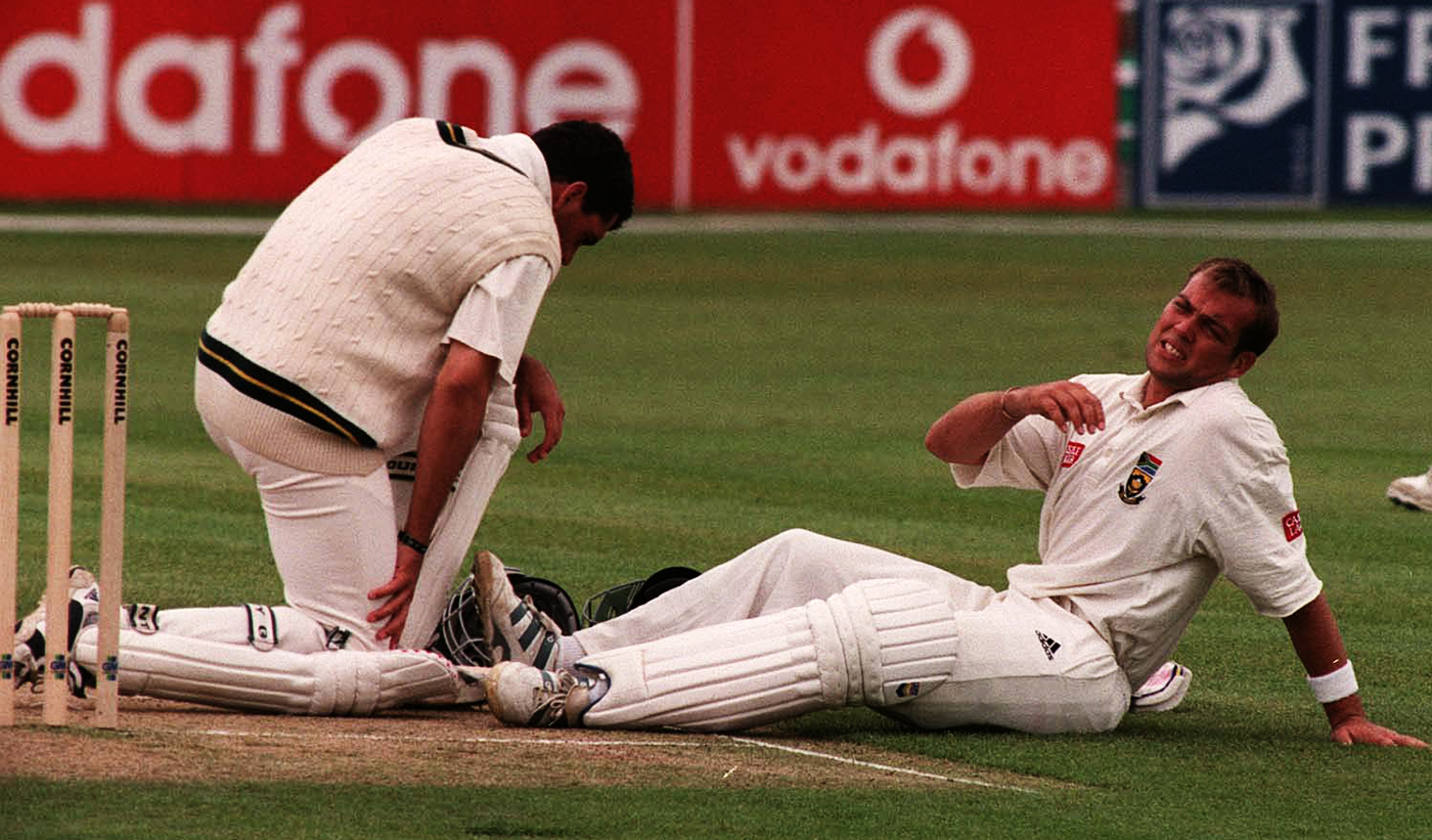 When Cronje brought South African cricket to its knees, Kallis was there, scoring one unattractive run at a time, to make sure it didn't collapse completely