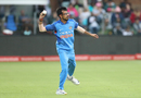 Yuzvendra Chahal shapes to throw the ball, South Africa v India, 5th ODI, Port Elizabeth, February 13, 2018