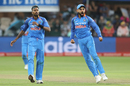 Virat Kohli lets out a roar as Hardik Pandya had JP Duminy caught at slip, South Africa v India, 5th ODI, Port Elizabeth, February 13, 2018