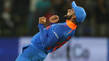 Virat Kohli is jubilant upon sealing the maiden bilateral ODI series win in South Africa