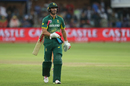 AB de Villiers was dismissed for a measly 6, South Africa v India, 5th ODI, Port Elizabeth, February 13, 2018