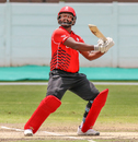 Srimantha Wijeyeratne demonstrated inventive strokeplay throughout his innings, Canada v Nepal, ICC World Cricket League Division Two, Windhoek, February 14, 2018