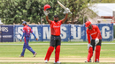 Srimantha Wijeyeratne carried his bat to finish unbeaten on 103 off 152 balls, Canada v Nepal, ICC World Cricket League Division Two, Windhoek, February 14, 2018