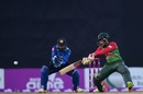Mushfiqur Rahim slashes a cut, Bangladesh v Sri Lanka, 1st T20I, Mirpur, February 15, 2018