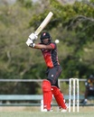 Tion Webster top-scored for Trinidad & Tobago, Trinidad & Tobago v Windward Islands, Bridgetown, Feb 15, 2018