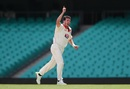 Daniel Worrall celebrates a wicket, New South Wales v South Australia, Sheffield Shield 2017-18, Sydney, February 16, 2018