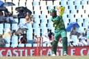 Heinrich Klaasen plays an off-side punch, South Africa v India, 6th ODI, Centurion, February 16, 2018
