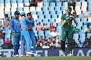 Morne Morkel reviews after being adjudged lbw, South Africa v India, 6th ODI, Centurion, February 16, 201