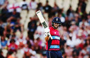 Dawid Malan made his fourth fifty in five T20I innings, New Zealand v England, Trans-Tasman T20 tri-series, Hamilton, February 18, 2018