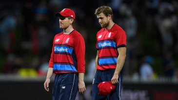 England's win was not enough to take them into the tri-series final