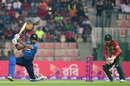 Danushka Gunathilaka drives through the off side, Bangladesh v Sri Lanka, 2nd T20I, Sylhet