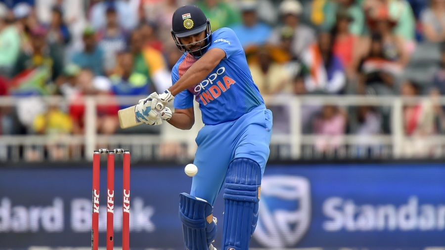Rohit Sharma blazed away after India were asked to bat