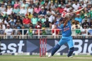 Manish Pandey scythes one behind point, South Africa v India, 1st T20I, Johannesburg, February 18, 2018