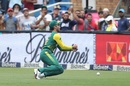Farhaan Behardien drops Suresh Raina's catch, South Africa v India, 1st T20I, Johannesburg, February 18, 2018