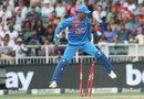 MS Dhoni and his love for broken stumps (while keeping), South Africa v India, 1st T20I, Johannesburg, February 18, 2018