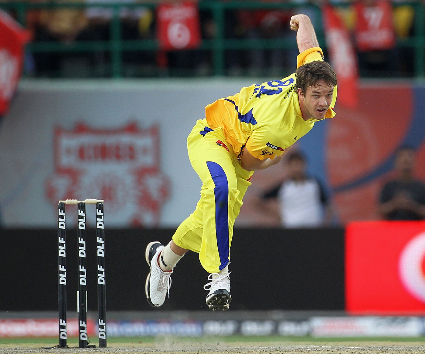 The fellow in yellow: most people's memories of Morkel are of him in a Chennai Super Kings shirt