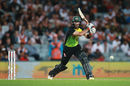 Glenn Maxwell sealed the final with 20 not out from 18 balls, New Zealand v Australia, T20 Tri-Series final, Auckland, February 21, 2018