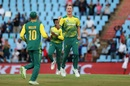 Chris Morris' celebrations were short lived, South Africa v India, 2nd T20I, Centurion, February 21, 2018
