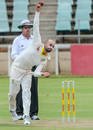Nathan Lyon went wicketless in his 14 overs, South Africa A v Australia, Benoni, February 22, 2018