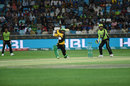 Kumar Sangakkara lifts one over extra cover, Multan Sultans v Lahore Qalandars, PSL 2018, Dubai