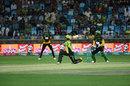Fakhar Zaman lays into a slog sweep, Multan Sultans v Lahore Qalandars, PSL 2018, Dubai