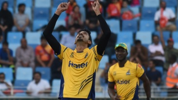 Umaid Asif picked four wickets in two overs