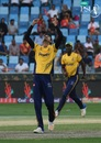 Umaid Asif picked four wickets in two overs, Peshawar Zalmi v Islamabad United, PSL 2018, Dubai, February 24, 2018