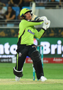 Brendon McCullum slogs one into the leg side, Lahore Qalandars v Quetta Gladiators, PSL 2018, Dubai, February 24, 2018