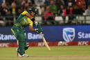 JP Duminy bunts one away en route to his half-century, South Africa v India, 3rd T20I, Cape Town, February 24, 2018