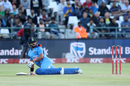 Suresh Raina looks on after having fallen on the pitch, South Africa v India, 3rd T20I, Cape Town, February 24, 2018
