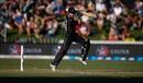 The Kane Williamson backfoot punch, New Zealand v England, 1st ODI, Hamilton, 25 February, 2018