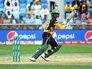 Shoiab Malik top-scored for Multan Sultans, Multan Sultans v Islamabad United, PSL 2018, Dubai, February 25, 2018