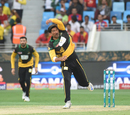 Sohail Tanvir in his delivery stride, Multan Sultans v Islamabad United, PSL 2018, Dubai, February 25, 2018