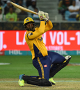 Dwayne Smith scored an unbeaten  half-century, Peshawar Zalmi v Karachi Kings, PSL 2018, Dubai, February 25, 2018