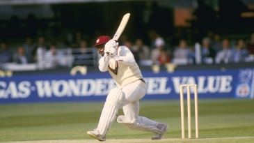 Gordon Greenidge made 102 against Pakistan in his 100th ODI and 149 in his 100th Test, against England