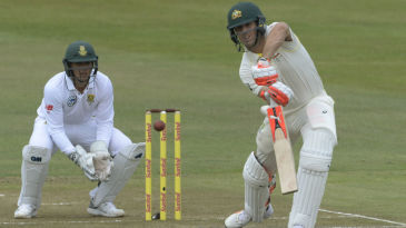 Mitchell Marsh anchored Australia's innings on the second morning