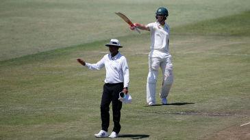 Mitchell Marsh celebrates a vital half-century