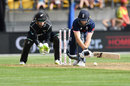 Jos Buttler brings out the reverse sweep, New Zealand v England, 3rd ODI, Wellington, 3 March, 2018