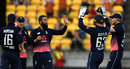 Moeen Ali celebrates a wicket, New Zealand v England, 3rd ODI, Wellington, 3 March, 2018