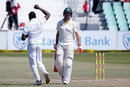 Kagiso Rabada had Mitchell Marsh caught at slip, South Africa v Australia, 1st Test, Durban, 3rd day, March 3, 2018