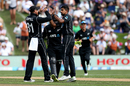 Ish Sodhi finished with career-best figures of 4 for 58, New Zealand v England, 4th ODI, Dunedin, March 7, 2018