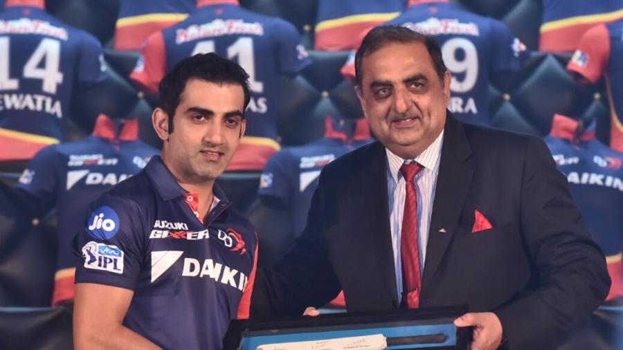 Gautam Gambhir was appointed captain of Delhi Daredevils