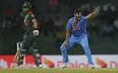 Shardul Thakur belts out an appeal, Bangladesh v India, Nidahas Twenty20 Tri-Series, Colombo, March 8, 2018