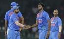 Vijay Shankar bagged his maiden international wicket, Bangladesh v India, Nidahas Twenty20 Tri-Series, Colombo, March 8, 2018