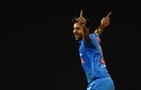 Shardul Thakur exults after dismissing Tamim Iqbal, Bangladesh v India, Nidahas Twenty20 Tri-Series, Colombo, March 8, 2018